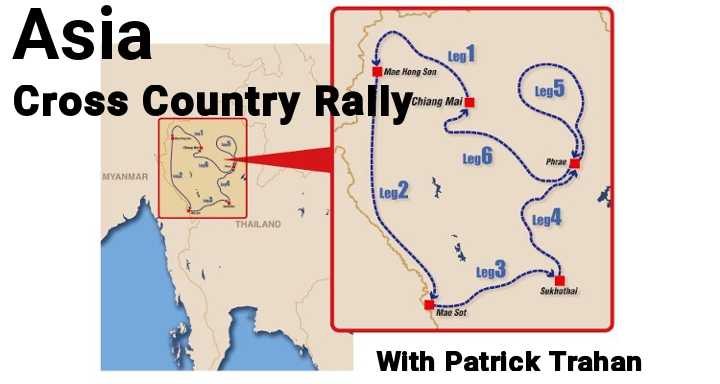 Canadian abroad: Patrick Trahan's update on Asia Cross Country Rally