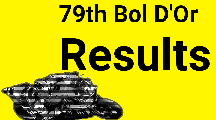 2015 Bol D'Or results