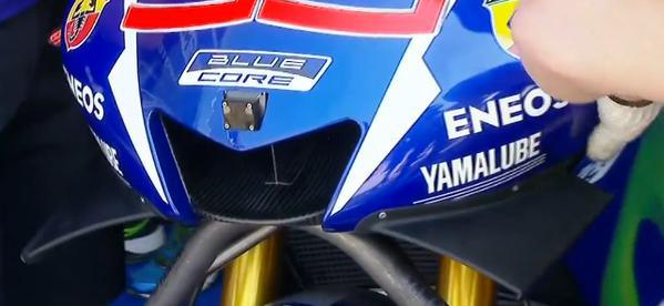 What's in a nose? Yamaha YZR M1 now with platypus face