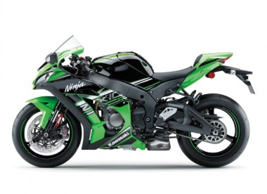 The bike will also be available in Kawasaki's racing-inspired livery.