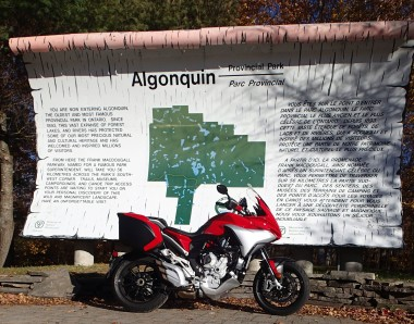 Algonquin Park's west entrance