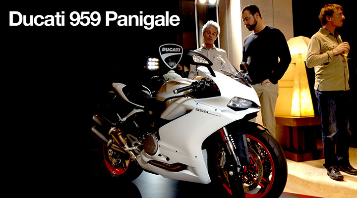 Launch: Ducati 959 Panigale quickie