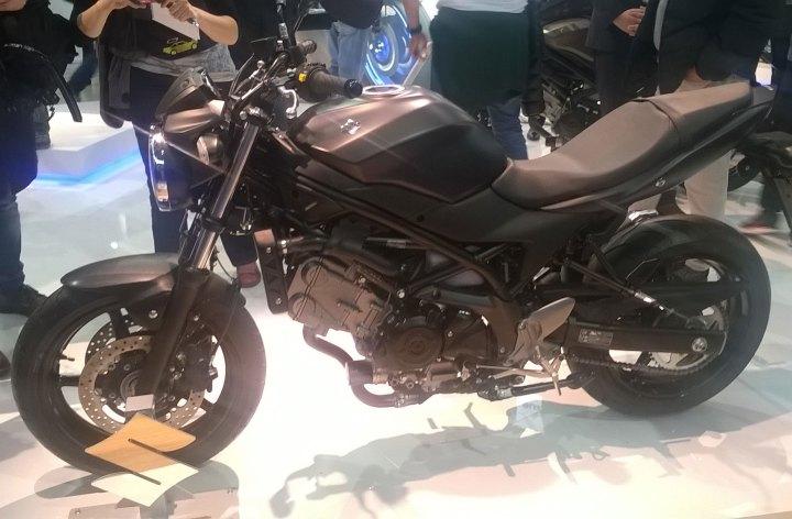 EICMA: New Suzuki SV650