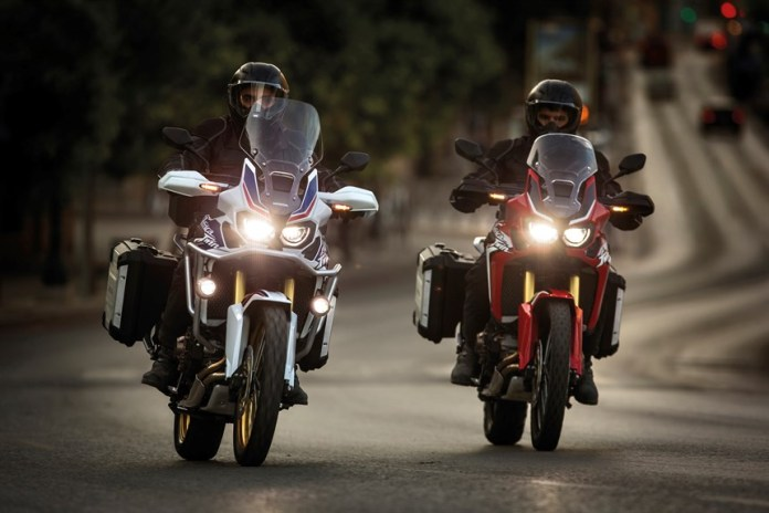 """Honda Africa Twins say """"I will take you places you've never been."""""""