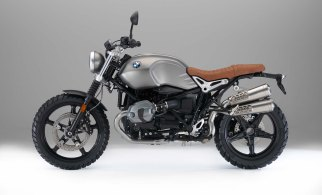 ... and the BMW Rnine T Scrambler.