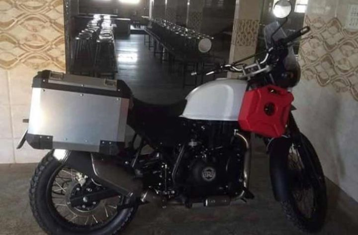 More Royal Enfield Himalayan photos surface
