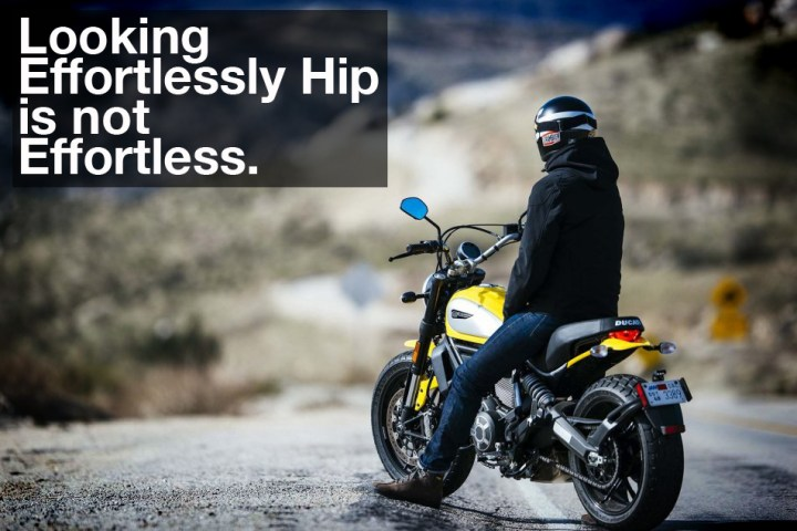 It's not just the motorcycle that's designed. The whole experience is mapped out deliberately inside the boardroom.