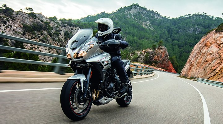 Here are some specs for the Triumph Tiger Sport