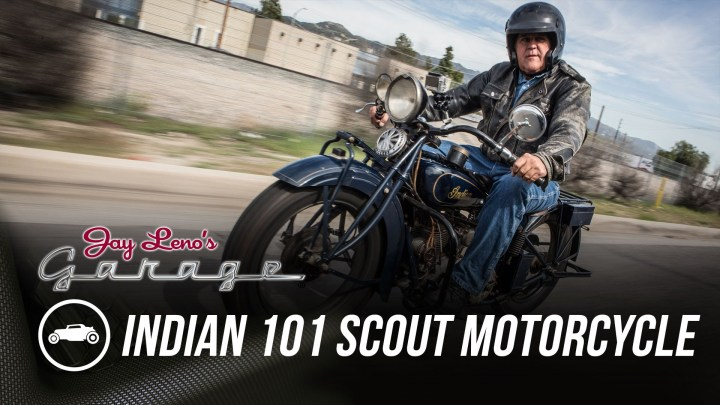 Video: Jay Leno on the Indian 101
