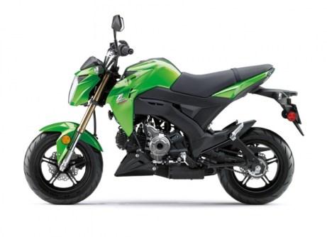 2017 Kawasaki Z125 2