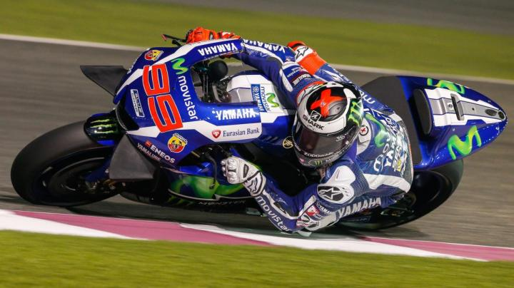 Lorenzo opted to try the new Yamaha winglets.