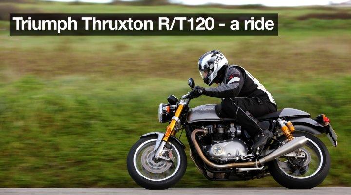 Bonneville T120 Black/Thruxton R ride review
