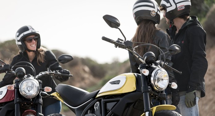 Ducati Scrambler ads are contrived, but highly effective and convincing. This could be you and your friends...