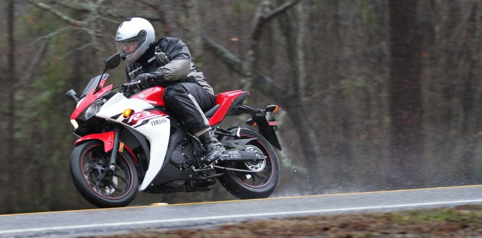 The R3 launch might have been rainy, but Rob made it worth his while.