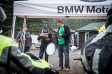 Coordinating rider releases at the 2015 Fundy Adventure Rally.