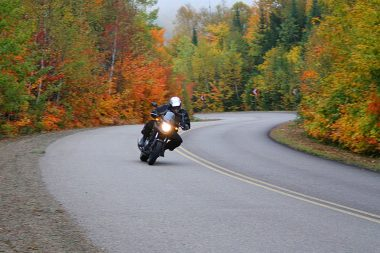 My fall tour with Rob in 2012 took us through Quebec, then Ontario. I still view it as one of the best rides I've ever taken.
