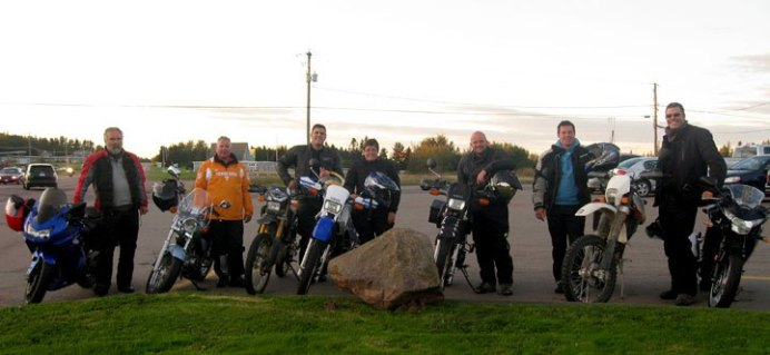 The original Dawn 2 Dusk riders from 2011. Everybody here was a serious rider, and a repeat attendee.
