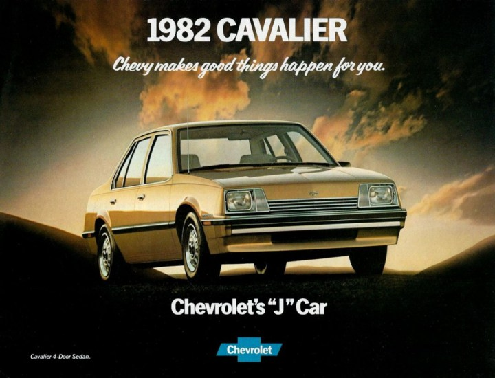 This Chevrolet could also be had as a Pontiac, Buick, Oldsmobile, Cadillac, Opel and later a Daewoo.