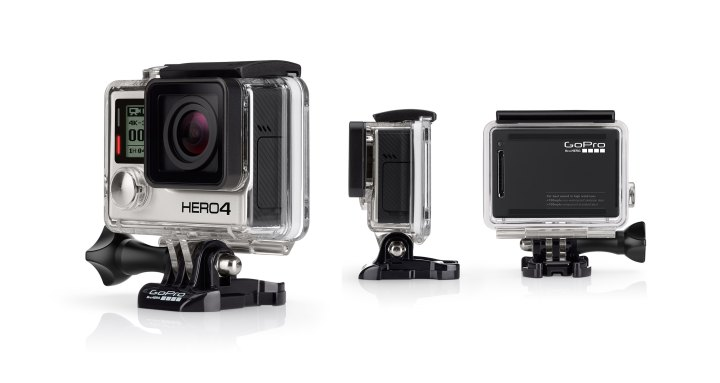 GoPro is the industry standard if you're serious about moto-filming, but there are many more affordable options.