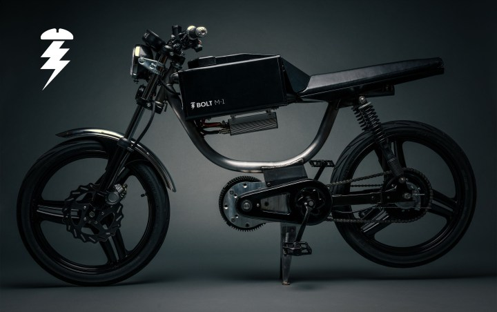 You'll look less dorky on the Bolt M-1 moped (if it enters production)