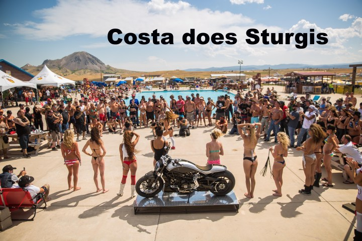 Sturgis with a Ducati xDiavel