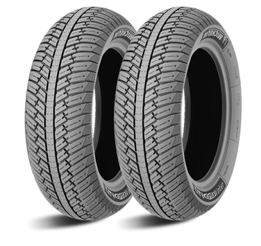 If you're pushing your riding into cold weather, see if you can find a pair of winter tires, like these ones from Michelin.