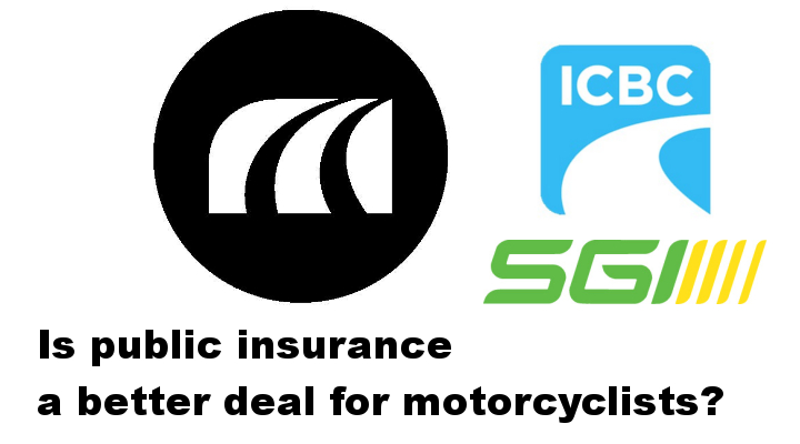 Public vs. private motorcycle insurance: Who's paying more?