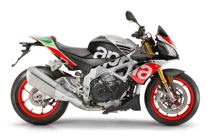 Intermot: Aprilia announces updated RSV4 RF, Tuono V4 1100