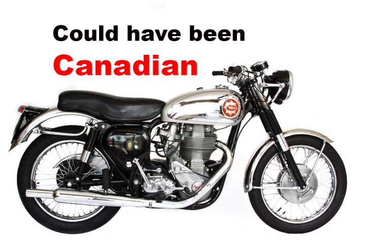 BSA: The brand that could have come to Canada