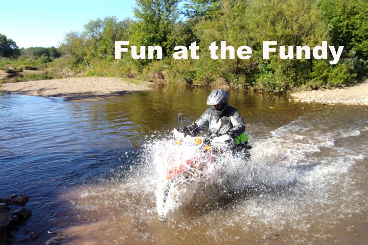 Fundy Rally Report: Team Media's adventures