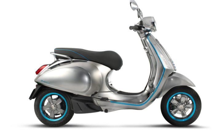 EICMA: Vespa's first electric scooter