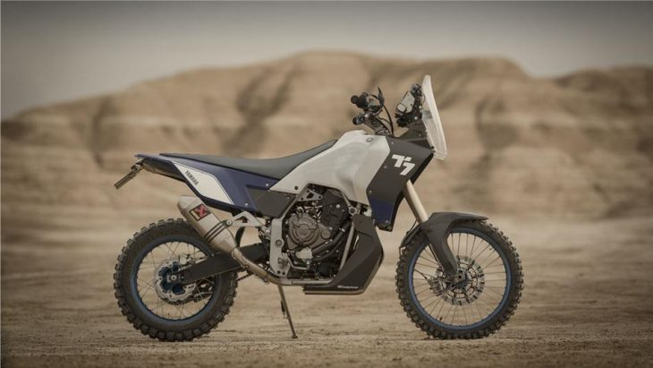 Italian magazine tests Yamah T7 Rally prototype