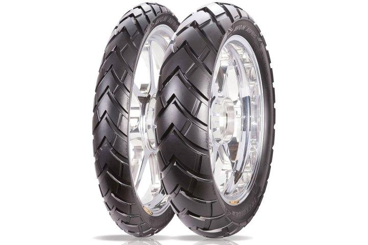 Avon debuts new Trekrider dual sport tires
