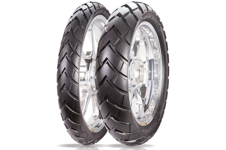 avon debuts new trekrider dual sport tires canada moto guide. Black Bedroom Furniture Sets. Home Design Ideas