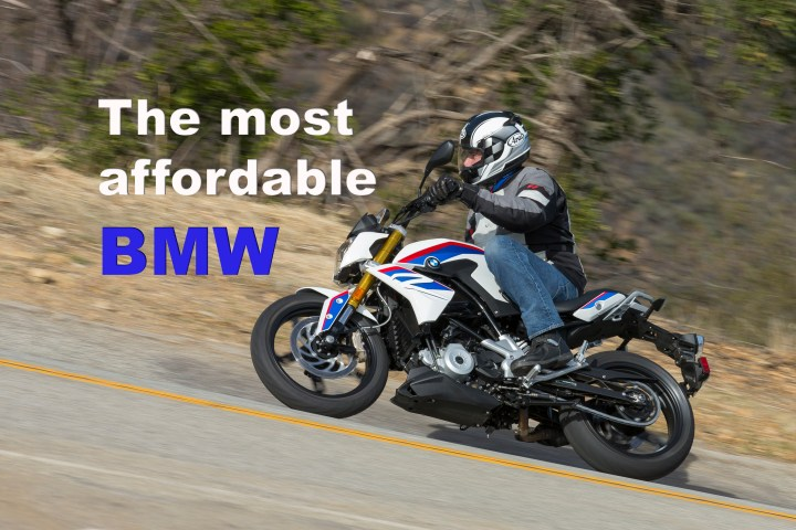 Costa rides BMW's new G310R