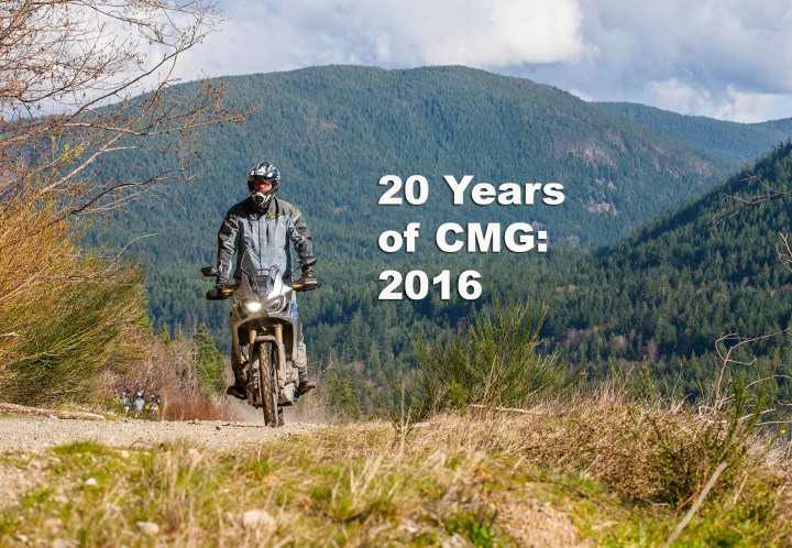 20 Years of CMG: The Africa Twin
