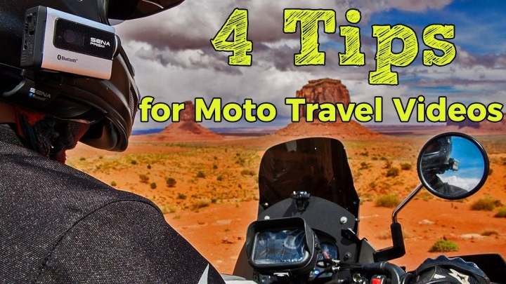 Video: Four steps for making moto-films
