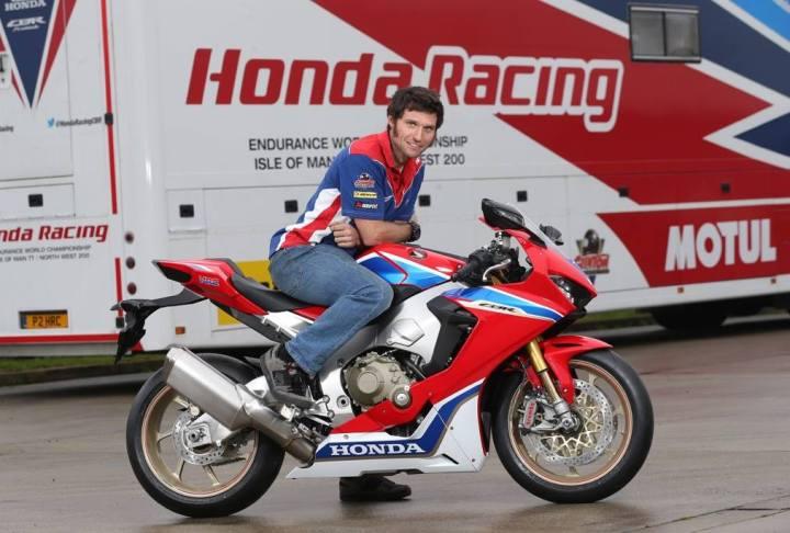 Guy Martin Honda