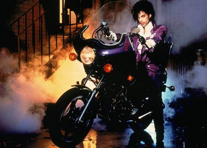 Soon, you can buy Prince's lame CM400 (from the Purple Rain album)
