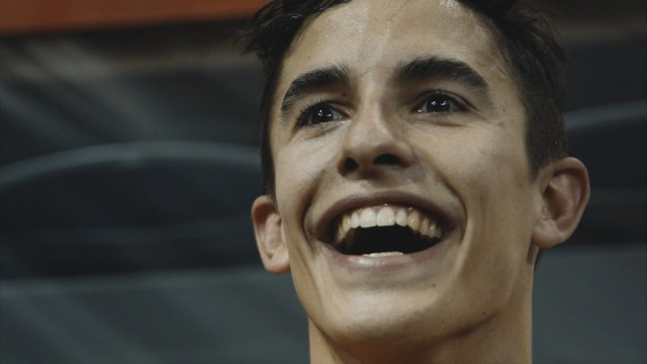 Video: Marc Marquez does the Superprestigio