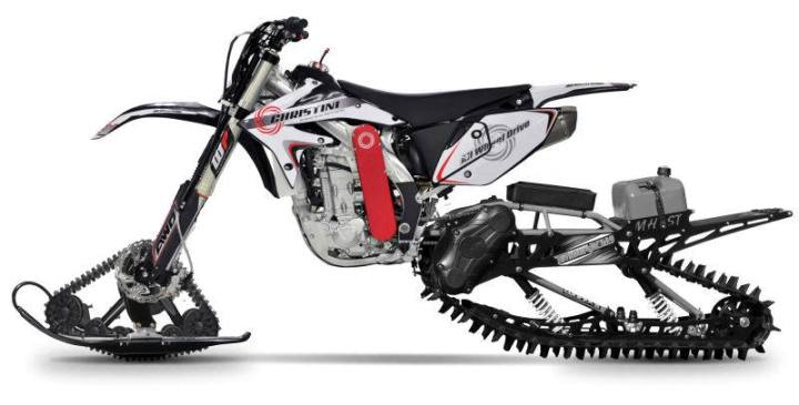 Christini snow bike