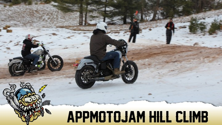 Video: Hillclimb meets ice studs