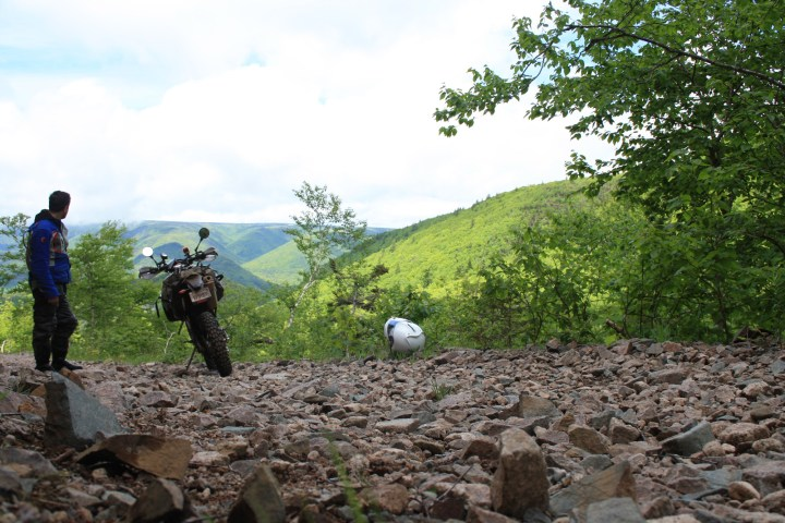 Trials on the trails: Dual sport riding in Cape Breton