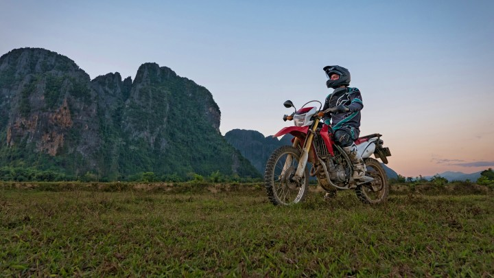The road less travelled: Riding Laos
