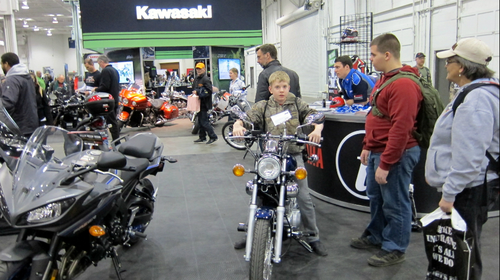 Motorcycle Springshow runs this weekend in Toronto