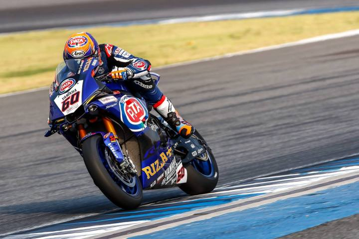 World Superbike race results: Thailand