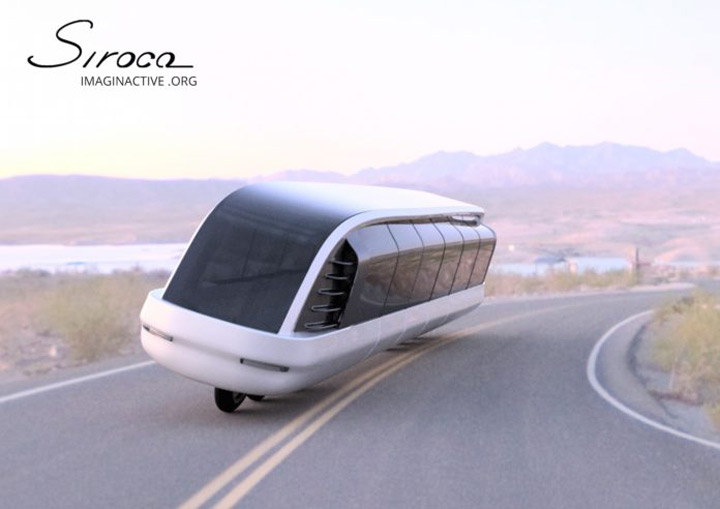 Montrealer's motorcycle/bus hybrid is as gonzo as it gets