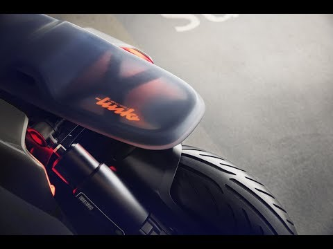 """BMW's take on the """"smart bike"""" is a scooter"""