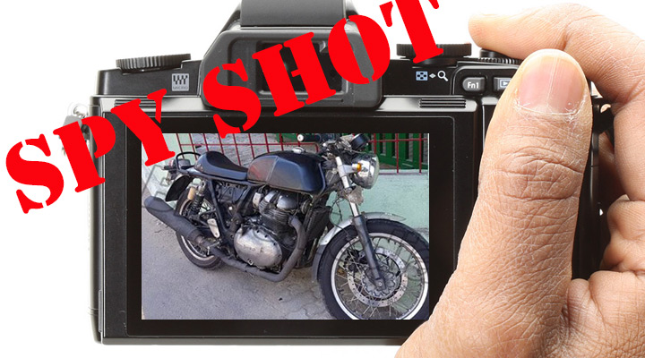 Spied (again)! Indian moto-press claims this is new Royal Enfield 750