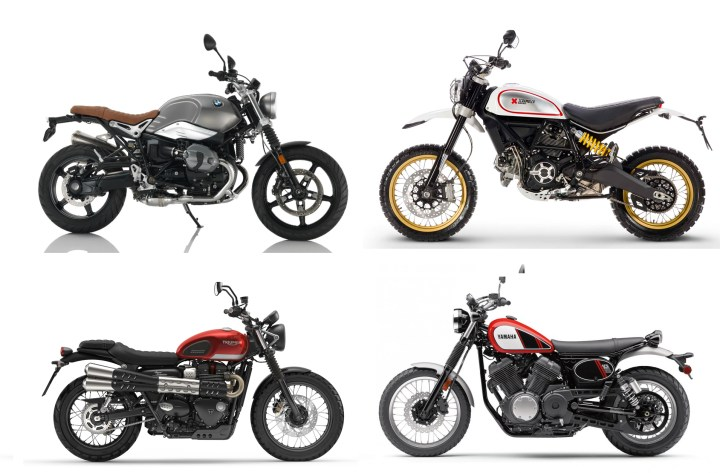 Showroom Showdown: Four Scramblers